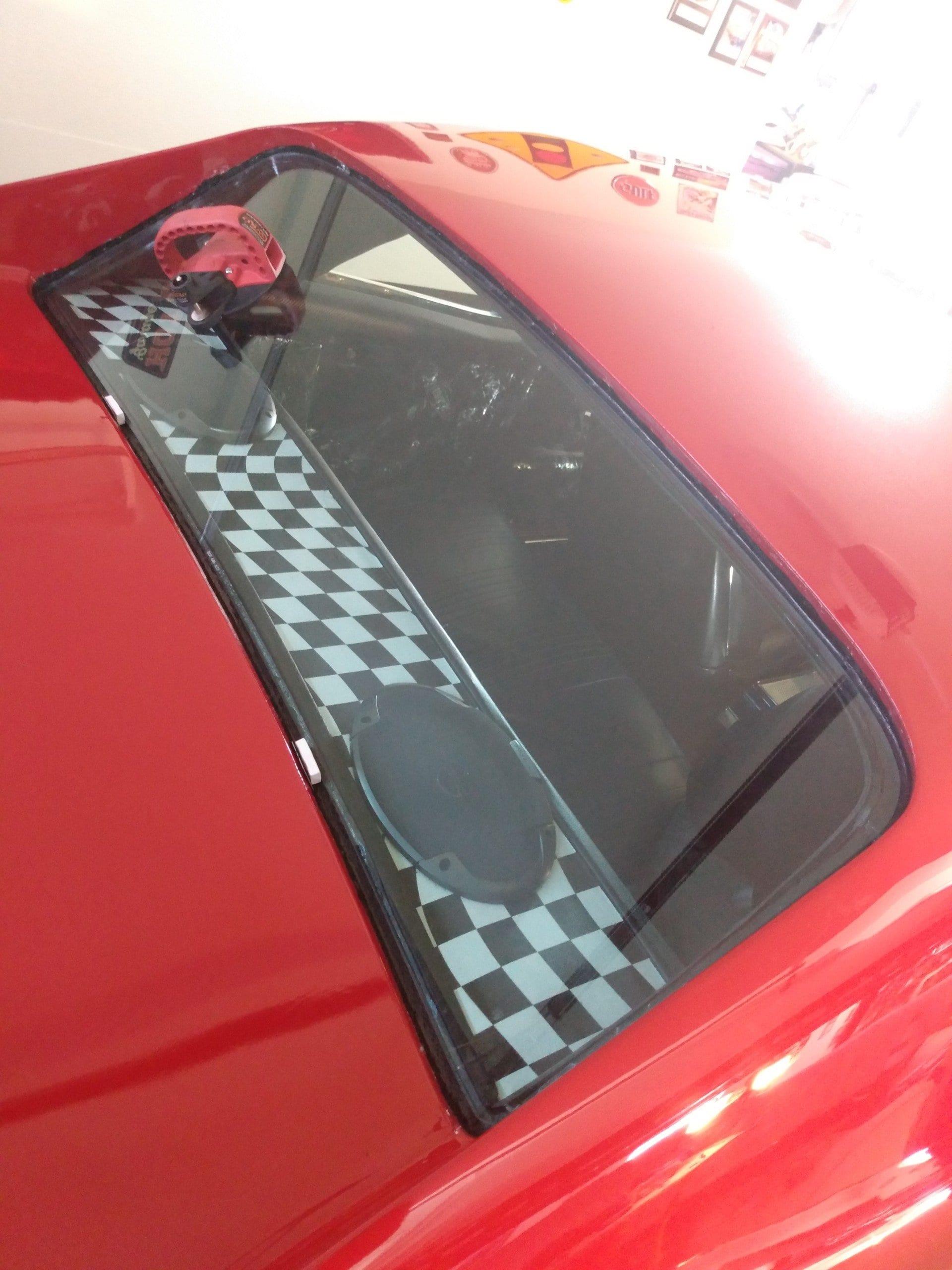 Pontiac GTO Back Glass Replacement