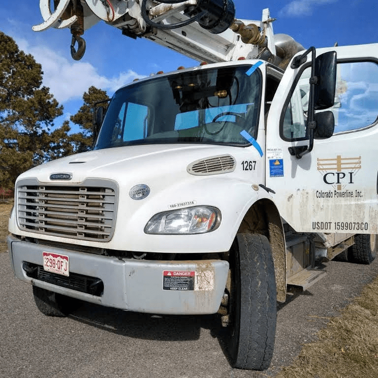 Colorado Powerline Inc Commercial Truck Windshield Replacement